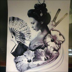 Gender in Japan   Leep09's Weblog  Man Serves Geisha